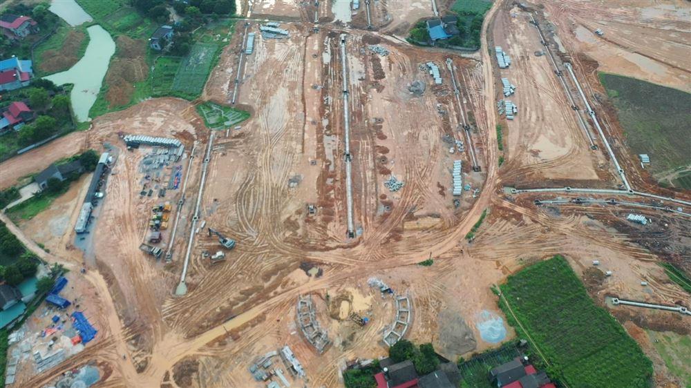 """[VN Hội nhập] Thái Nguyên: Dự án Danko City vượt """"bão"""" Covid-19 đảm bảo tiến độ thi công"""