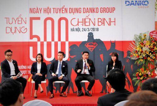 Hàng trăm ứng viên tiềm năng tham dự Ngày hội tuyển dụng Danko Group 2018