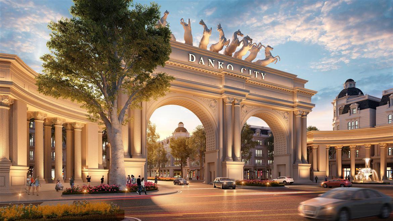 Quảng trường Victoria - Điểm nhấn tự hào của Danko City Thái Nguyên