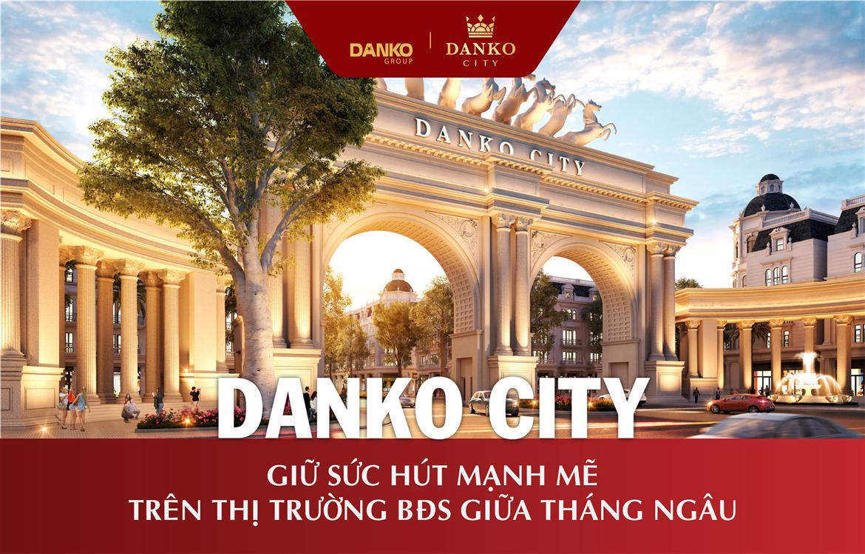 Tiến độ dự án Danko City Thái Nguyên - Ngày 3/9/2020