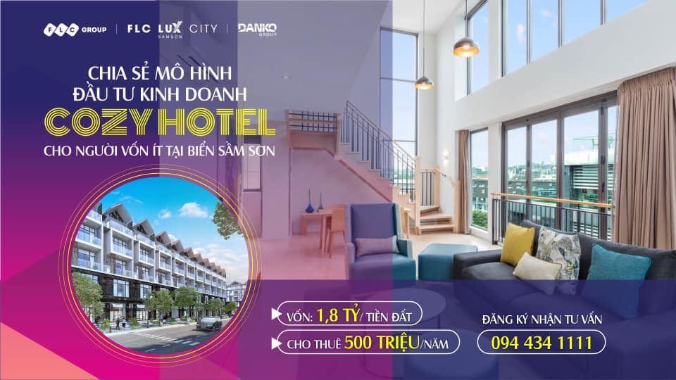 Du lịch Sầm Sơn bội thu, xu hướng mới Cozy Hotel hút khách đầu tư