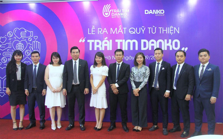 """Danko Group ra mắt Quỹ từ thiện """"Trái tim Danko"""""""