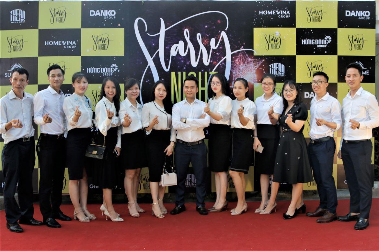 Ấm áp Đêm tiệc Starry Night - Tiệc chào mừng nhân sự mới Danko Group