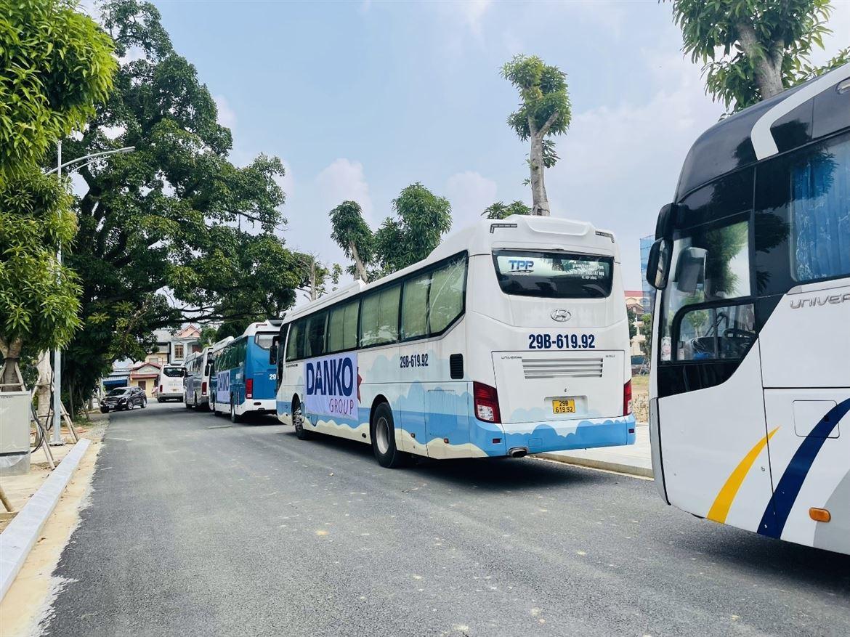 Gần 300 CBNV tại Thái Nguyên về Hà Nội tiêm phòng Covid 19 - Danko hoàn thành 100% mũi  tiêm thứ 2