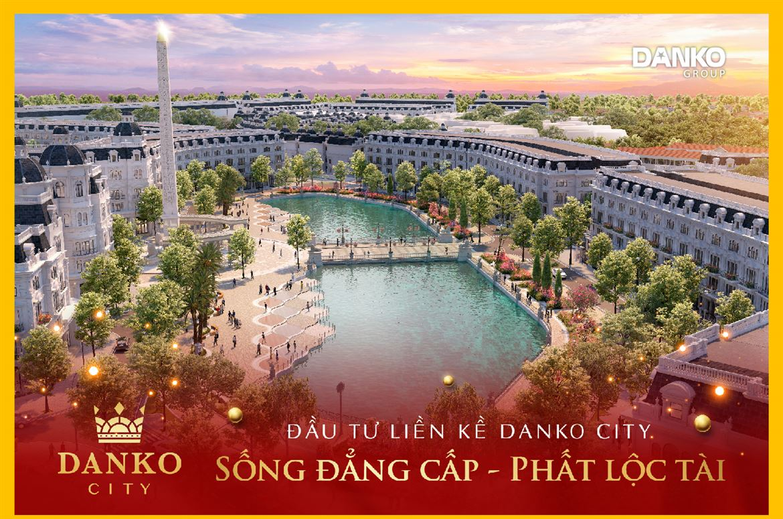 Tiến độ dự án Danko City Thái Nguyên ngày 7/8/2020
