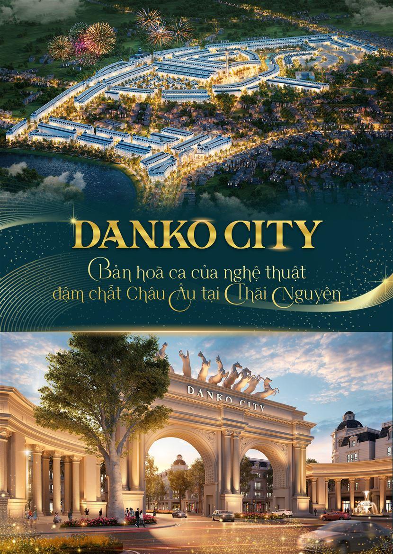 Danko City - Bản hoà ca của nghệ thuật đậm chất Châu Âu tại Thái Nguyên
