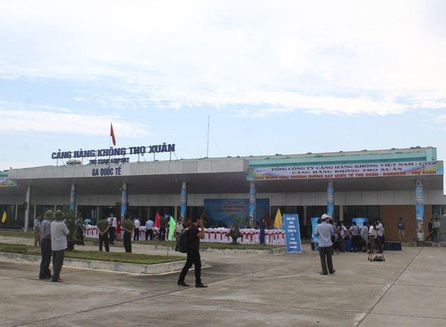 Mở đường bay quốc tế Thanh Hóa – Bangkok