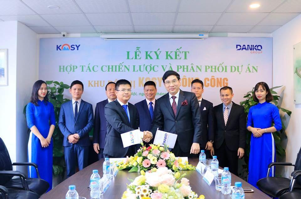Danko Group chính thức hợp tác phân phối dự án Khu đô thị Kosy Sông Công