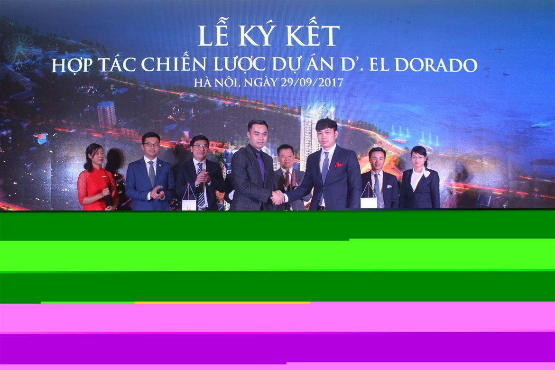 Lễ ký kết hợp tác dự án D'eldorado giữa Tân Hoàng Minh và DankoGroup thành công tốt đẹp