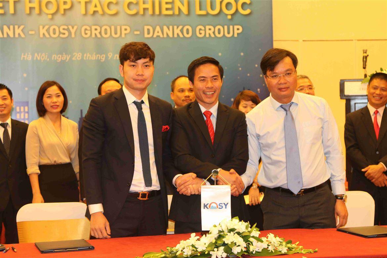 Lễ ký thỏa thuận hợp tác chiến lược giữa Danko Group, Bảo Việt và Tập đoàn Kosy