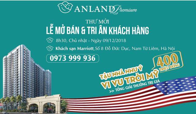 Tập đoàn Nam Cường mở bán và tri ân khách hàng dự án Anland Premium