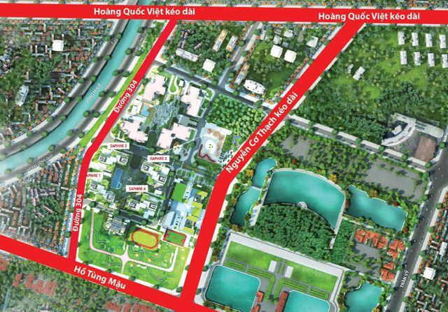 Đường Nguyễn Cơ Thạch dự kiến thông đường trong tháng 12
