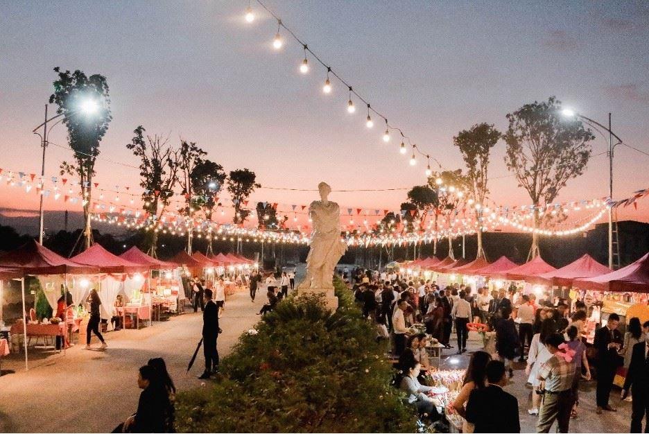 Danko Square – Lễ hội tỏa sáng không gian văn hóa châu Âu tại Thái Nguyên