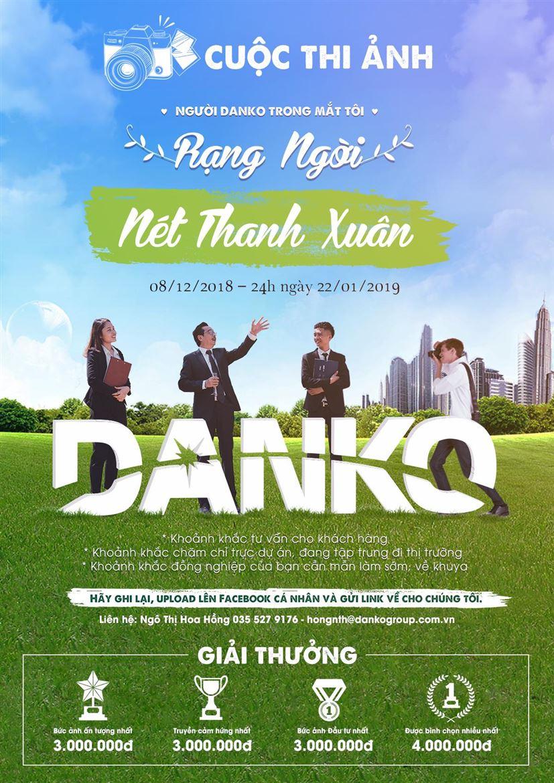 Danko Group phát động Cuộc thi Ảnh Người Danko trong mắt tôi - Rạng ngời nét thanh xuân