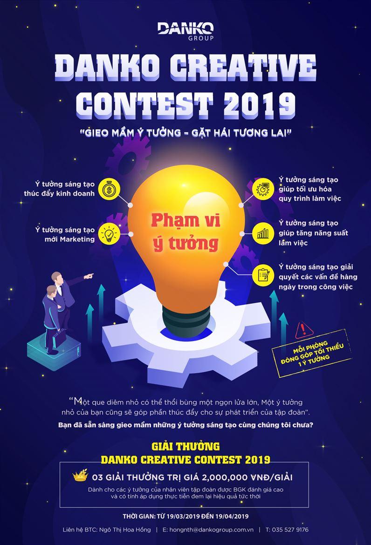 Danko Group phát động Cuộc thi Ý tưởng sáng tạo - Danko Creative Contest 2019