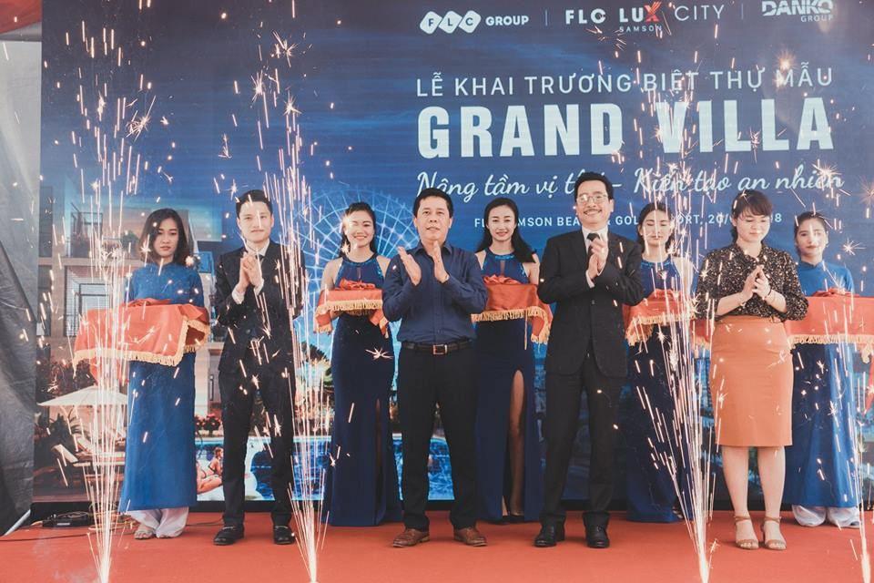 Lễ khai trương biệt thự mẫu FLC Grand Villa