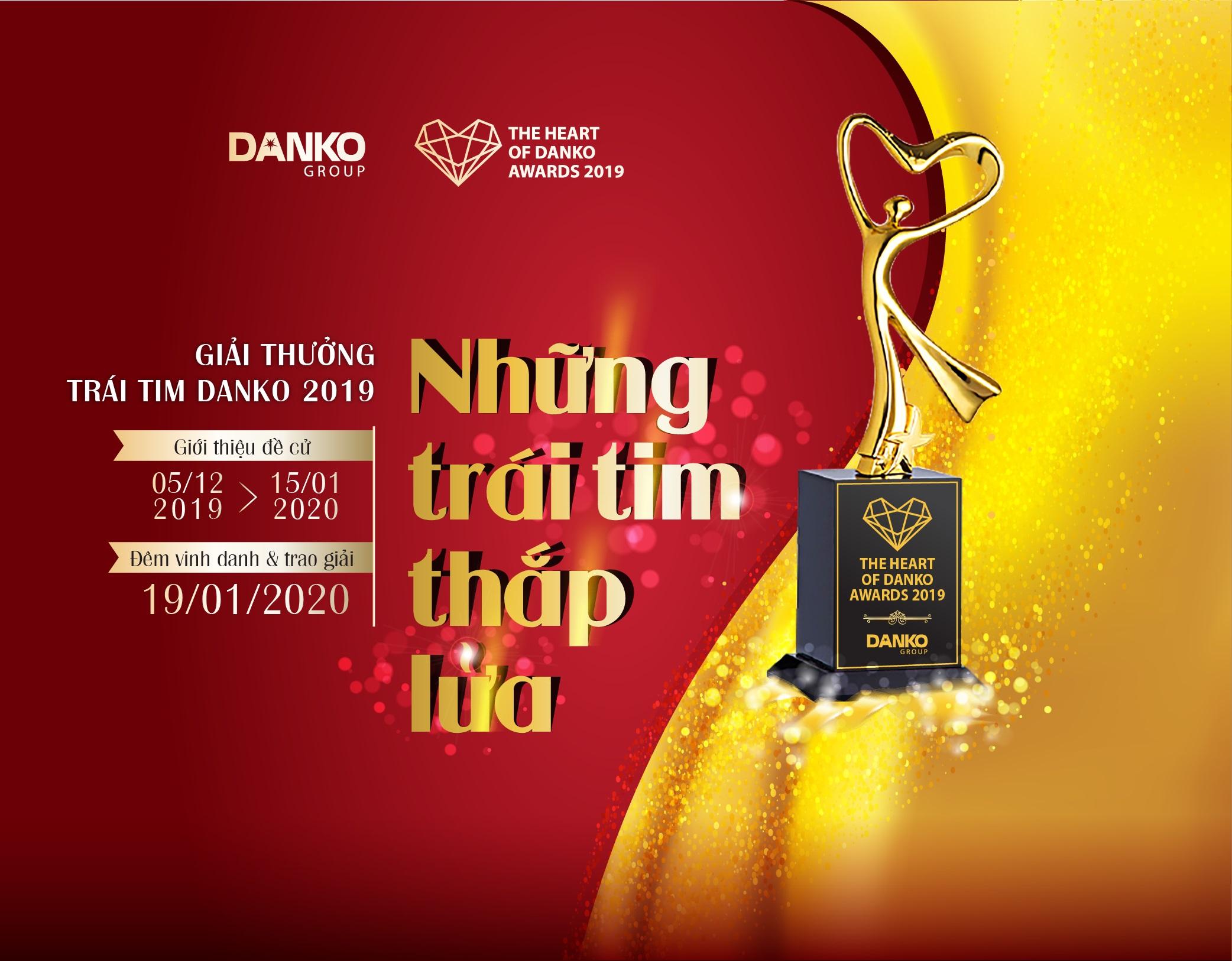 Giải thưởng Trái tim Danko 2019