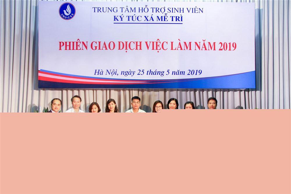 DANKO GROUP THAM GIA TUYỂN DỤNG TẠI PHIÊN GIAO DỊCH VIỆC LÀM 2019 - KTX MỄ TRÌ - ĐHQGHN