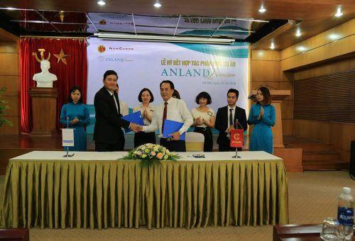 Danko Group ký kết hợp tác chiến lược cùng tập đoàn Nam Cường phân phối Anland Premium