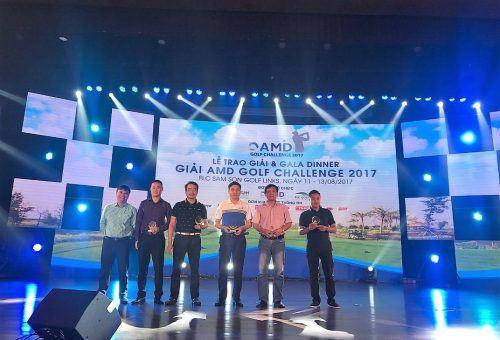 Danko Group đồng hành cùng giải AMD Golf Challenge 2017