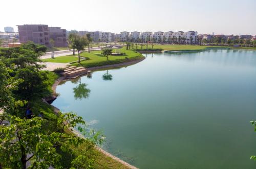 Khu đô thị Bách Việt gấp rút hoàn thiện các hạng mục cuối