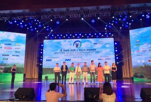 Danko Group tài trợ Hole in one tại giải Biscom Golf Tournament 2017