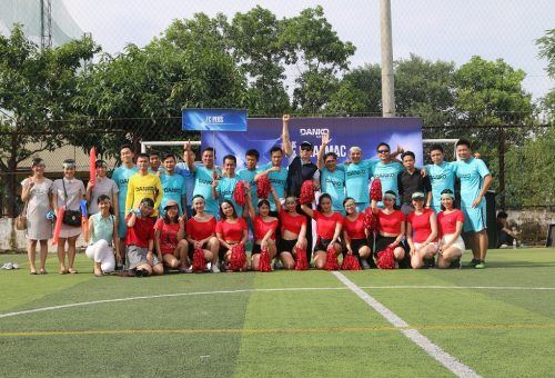 Danko Group tổ chức giải bóng đá tranh Cup mùa hè 2017