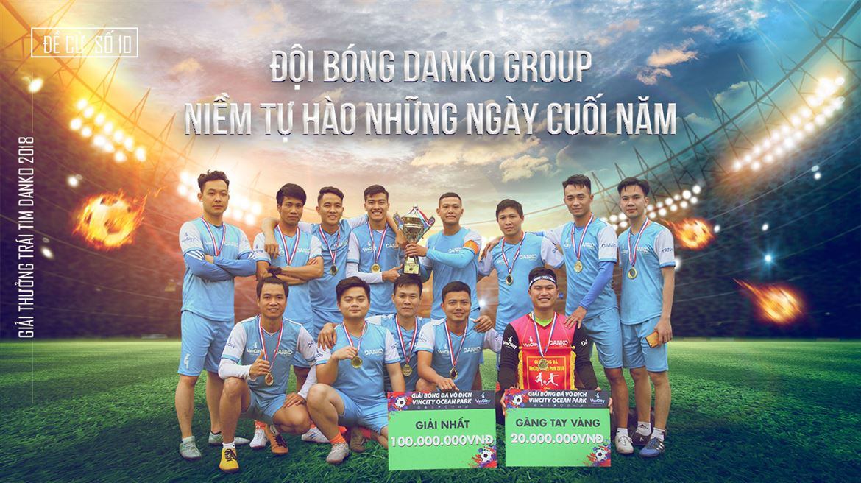 Đề cử số 10 - Đội bóng Danko Group, Niềm tự hào những ngày cuối năm