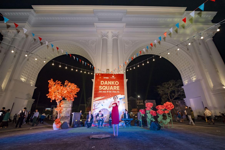Danko Square - Điểm hẹn văn hoá mới lạ mang sắc màu Châu Âu tại Thái Nguyên