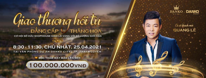 """Ca sỹ Quang Lê xuất hiện tại sự kiện """"Giao thương hội tụ, đẳng cấp thăng hoa"""""""