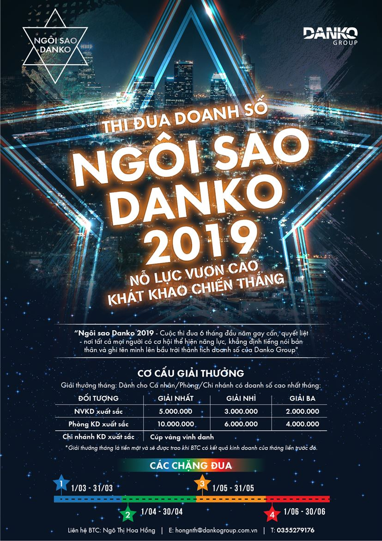 Phát động thi đua Ngôi sao Danko 2019 - Nỗ lực vươn cao, khát khao chiến thắng